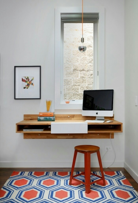 A small Scandi work space, Alice in Scandiland